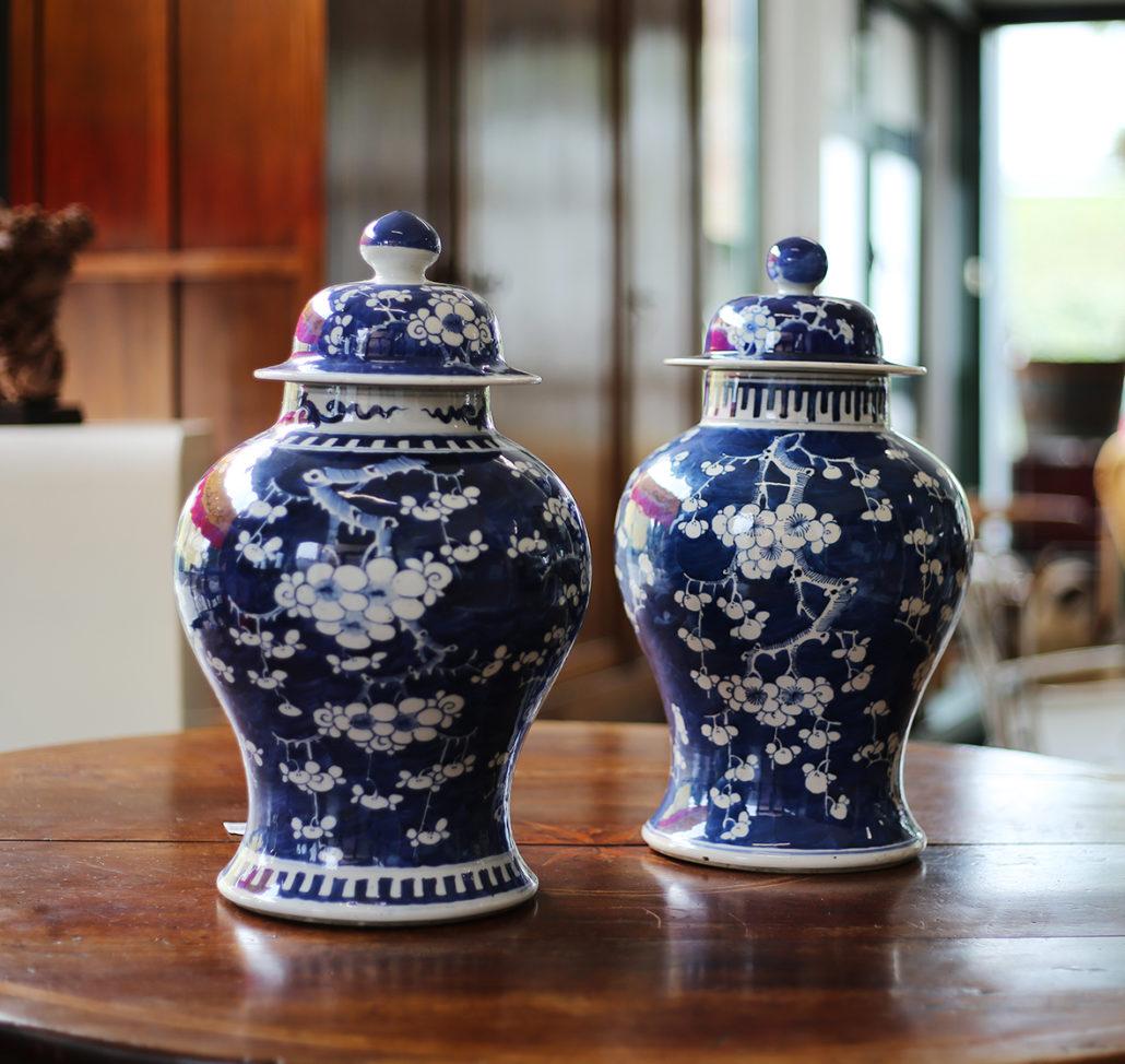 Due antichi vasi cinesi in vendita da tarabacli a parma for Vasi antichi